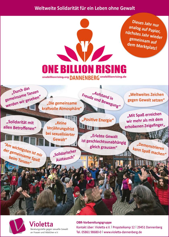 Plakat One Billion Rising 2021